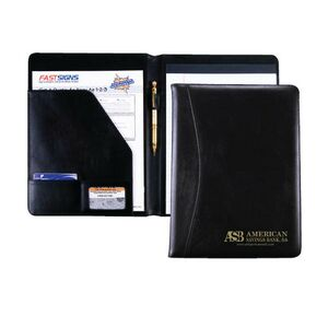 Starting at only $9.60 ea. Full Size Padfolio with Low 40 piece Minimum