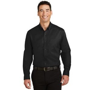 Port Authority® SuperPro™ Twill Tall Shirt