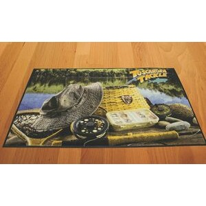 4'x6' DigiPrint™ High Definition Nylon Indoor Carpeted Logo Mat
