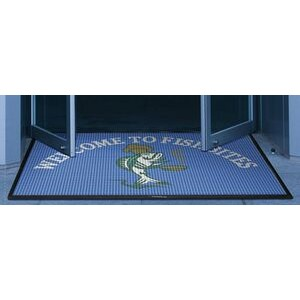 2'x3' Waterhog™ Inlay Indoor/Outdoor Logo Mat with Surface Nubs