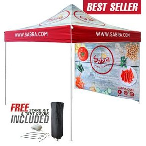 10'x10' V5 Commercial Steel Printed Tent & Wall