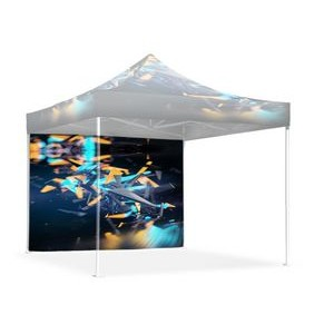 10' Single Sided Printed Tent Wall
