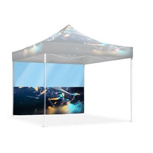 10' Single Sided Printed Tent Wall w/Window
